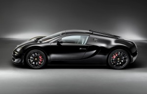 Legendary black beauty from Bugatti